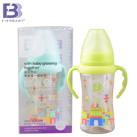 Fierbaby Cute  Baby Feeding Bottle Infant Newborn Baby PPSU with  Handle Nursing bottle Bottle Auto-straw baby feeding bottle