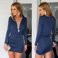 Rouged Bodycon Dress