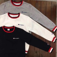 Champion Round Neck Top Pullover Sweater