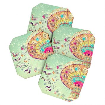 Shannon Clark Swinging Through Stars Coaster Set