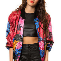 The Vintage Picasso Bomber Jacket
