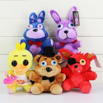 At Freddy Stuffed Animals Bear & Fox& Duck & Rabbit Kids Movie Plush Toys Doll For Gift