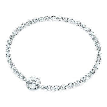 Tiffany & Co. -  Tiffany 1837™ toggle necklace in sterling silver.