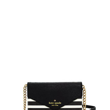 Kate Spade Fairmount Square Monday Black/Sandy Beach ONE