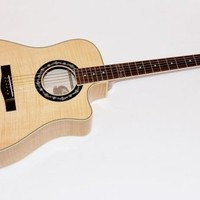 Fender T-Bucket 400 CE Flamed Maple Acoustic-Electric Guitar Natural
