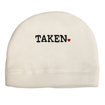Taken Adult Fleece Beanie Cap Hat by