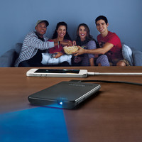 Brookstone® Pocket Projector Slim—Buy Now!