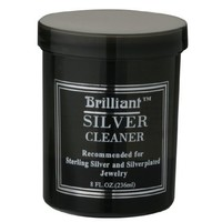 Brilliant® 8 Oz Silver Jewelry Cleaner with Cleaning Basket | AihaZone Store