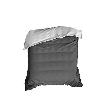 Soft Gray Crib Comforter