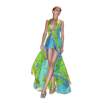 Heather Jones Fig Leaf Resort Dress - Heather Jones