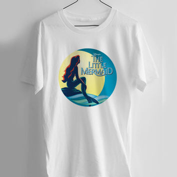 the little mermaid T-shirt Men, Women and Youth