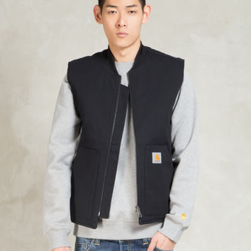 Carhartt WORK IN PROGRESS Black Rigid Vest | HYPEBEAST Store.