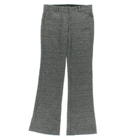 Theory Womens Max K Wool Flat Front Dress Pants