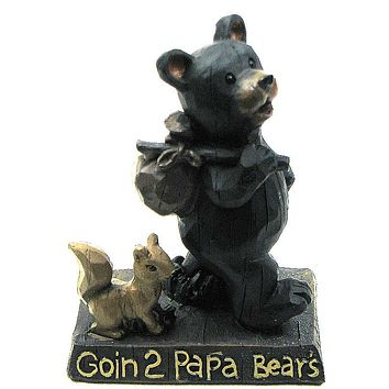 Goin 2 Papa Bear Figurine