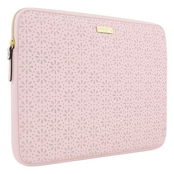 kate spade new york Perforated Laptop Sleeve - 13 (Rose Quartz) | Dell United States