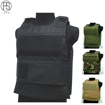 Tactical Military Airsoft Hunting Molle Carrier Combat Army Vest CS Bulletproof Vest 4 Color