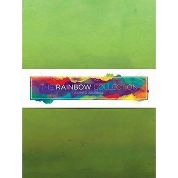 TF Publishing Watercolor 72 Page Softcover Journal, Green