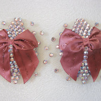 Baby doll bow nipple pasties