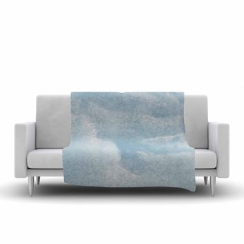 """Chelsea Victoria """"Blue Afternoon"""" Blue Photography Fleece Throw Blanket - Outlet Item"""