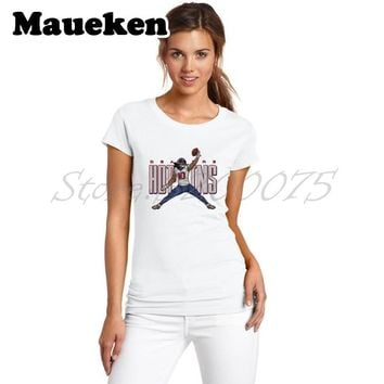 Women NUK  10 DeAndre Hopkins Logo Jordan Houston T-Shirt Lady C 4761d80e0