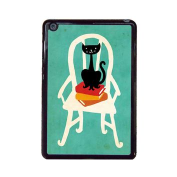 Still Life With Cat Sitting On Chair iPad Mini Case