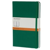 Moleskine Classic Notebook, Large, Ruled, Oxide Green, Hard Cover (5 x 8.25) (Classic Notebooks)