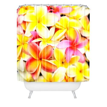 Deb Haugen Plumeria Dream Shower Curtain