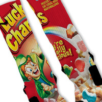 Lucky Charms Fast Shipping!! Nike Elite Socks Customized
