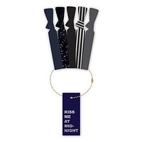 Kiss Me at Midnight | Seasonal Hair Tie Collection