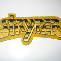 Vintage 1980s Deadstock STRYPER Patch