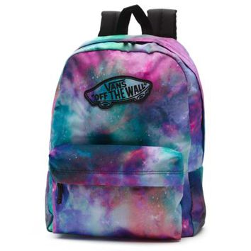 Vans Galaxy Realm Backpack (Nubula/True White)