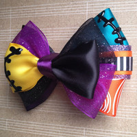 The Nightmare Before Christmas Sally inspired bow