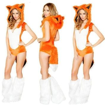 PEAPIX3 Fox Halloween Cosplay Uniform [9220884420]