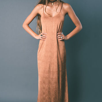She Moves Slip Maxi