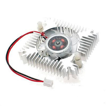 GTFS Hot New Metal VGA Video Card Cooler Heatsinks Cooling Fan for Your