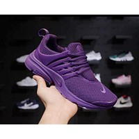 Nike Air Presto Trending Women Men Casual Sport Running Shoe Sneakers Purple I