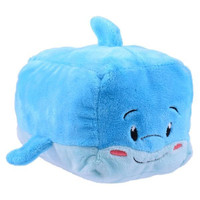"SeaWorld Stackseas Dolphin Plush 4"" New with Tag"