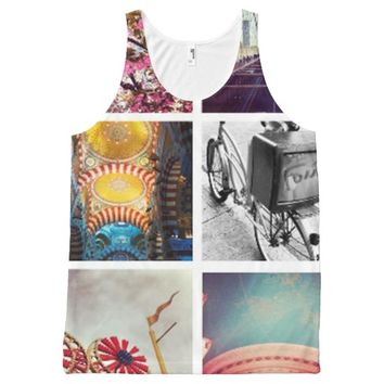Create Your Own Instagram All-Over Print Tank Top