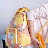 Papaya Canvas Backpack