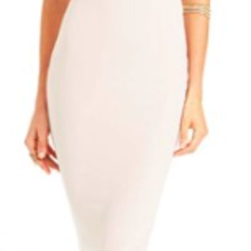 Nookie Nude Heidi Bodycon dress