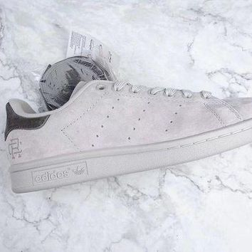 DCCKIG3 Adidas x Reigning Champ Stan Smith 3M Sneaker