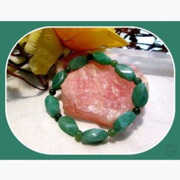 """Good Fortune"" Green Aventurine Bracelet"