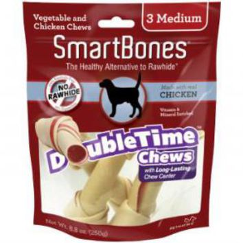 Smartbones DoubleTime Chews Chicken Medium