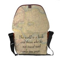 Those who do travel messenger bags from Zazzle.com