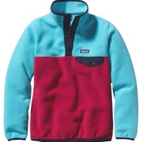 Patagonia Girls' Synchilla Snap-T Pullover Fleece
