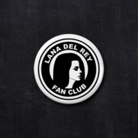 Lana Del Rey fan club button