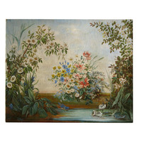 A French, late 19th century, Flower Painting