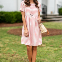 Need Your Love Dress, Coral