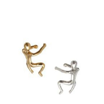 ASOS Pack of Two Running Man Ear Cuff at asos.com