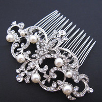 wedding hair accessories,bridal hair accessories,pearl bridal comb,bridal hair piece,wedding hair comb,wedding hair piece,bridal hair comb